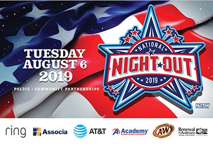 National Night Out Logo banner