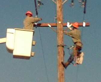 Collinsville Energy Linesmen