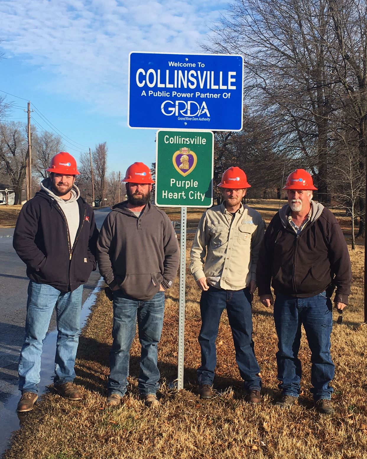 GRDA sign Collinsville Energy Crew
