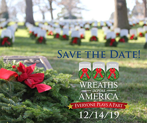 Save the Date Wreaths Across America