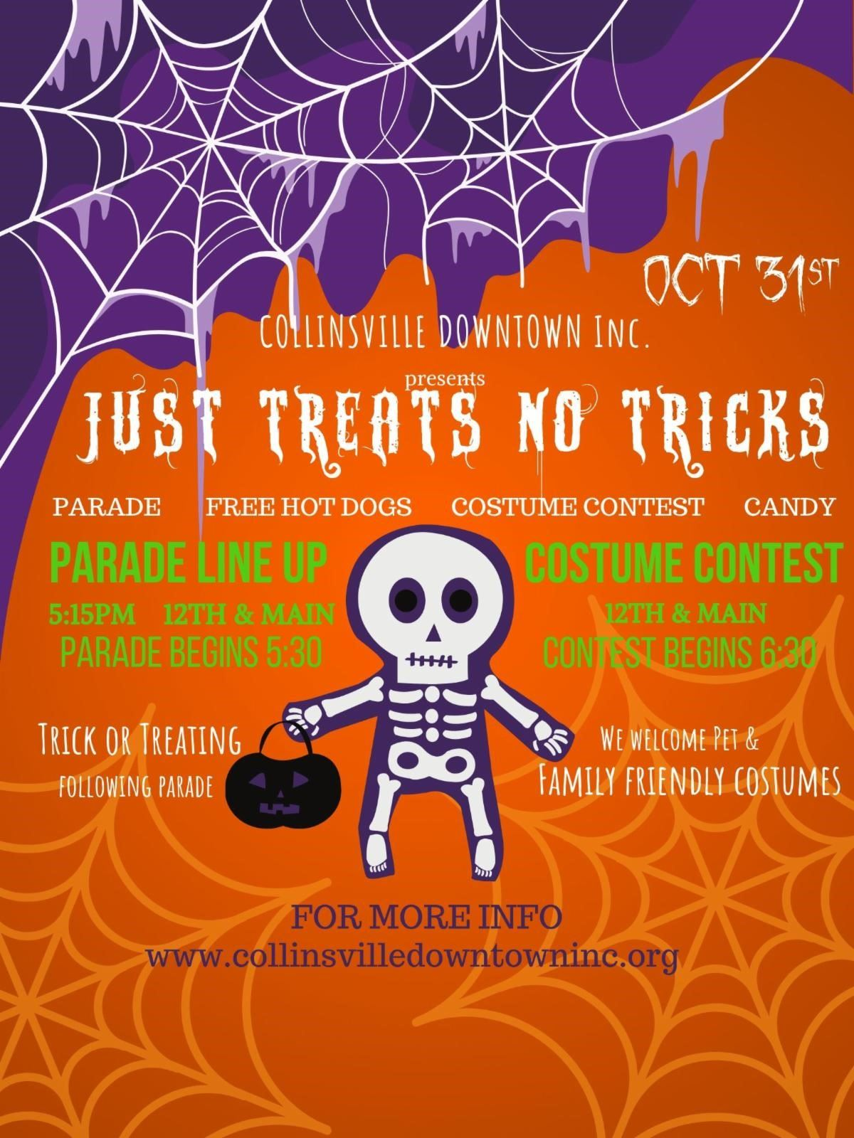 Just Treats - No Tricks 2019