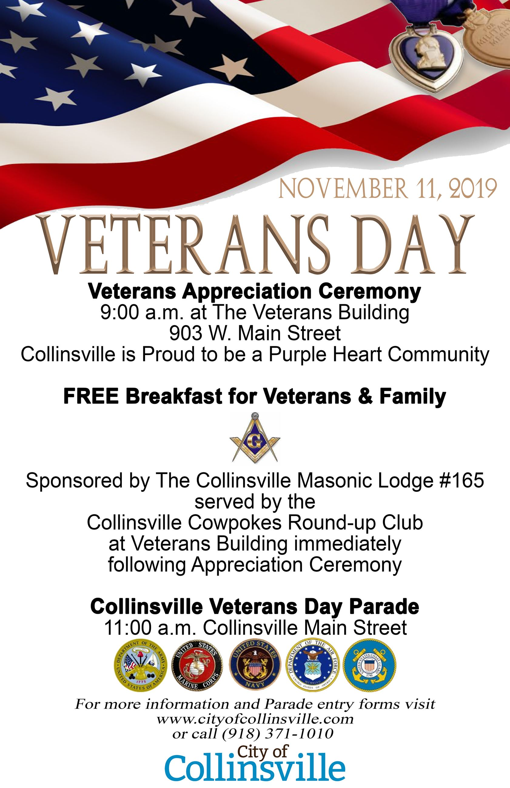 2019 Veterans Day Poster