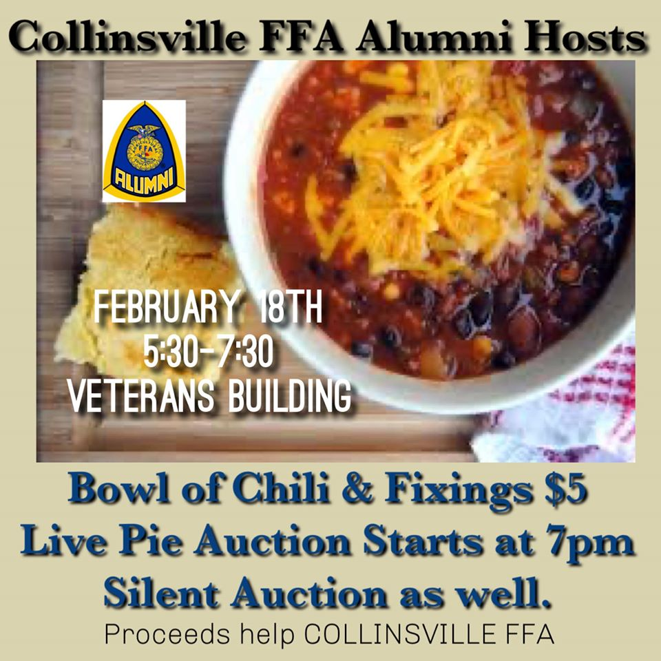 FFA Chili Dinner and Auction