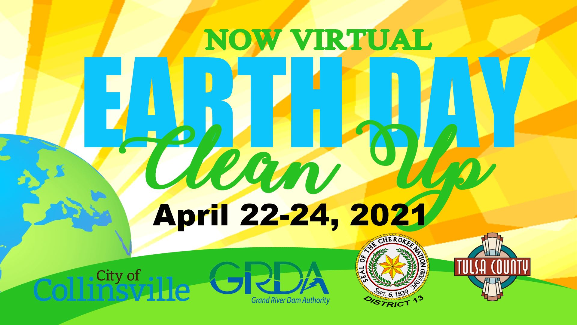 Virtual Earth Day Clean Up